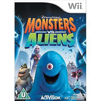 Monsters vs Aliens (Nintendo Wii)