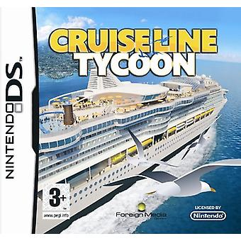 Cruise Ship Tycoon (Nintendo DS) - Factory Sealed