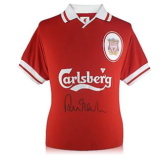 Robbie Fowler Front ondertekend 1996 Liverpool Shirt