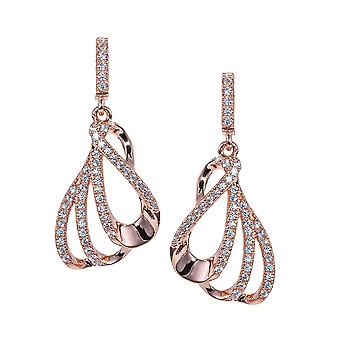 Orphelia Silver 925 Earing Rosegold Plated  ZO-7256