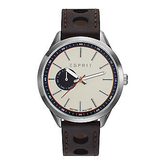 ESPRIT mens watch wristwatch TP10921 leather ES109211001