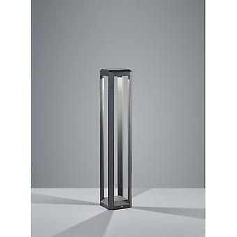 Trio Lichtmast Logone Modern anthrazit Diecast-Aluminium