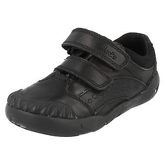 Boys Clarks Infant School Shoes Raptoboy