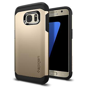 Spigen Tough Armor for Galaxy S7 gold colored