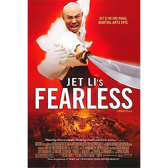Locandina del film Fearless (11 x 17)