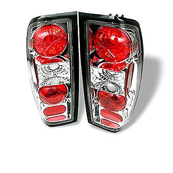 Spyder Auto Nissan Frontier Chrome Altezza Tail Light