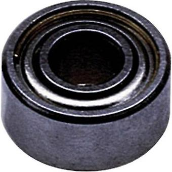Reely Radial ball bearing Stainless steel Inside diameter: 6 mm Outside diameter: 10 mm Rotational speed (max.): 52000