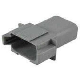 TE Connectivity DT04-08PA-C015 Bullet connector Plug, straight Series (connectors): DT Total number of pins: 8 1 pc(s)