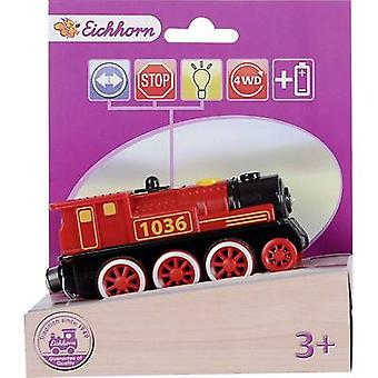 Eichhorn Wooden train set Locomotive 100001303