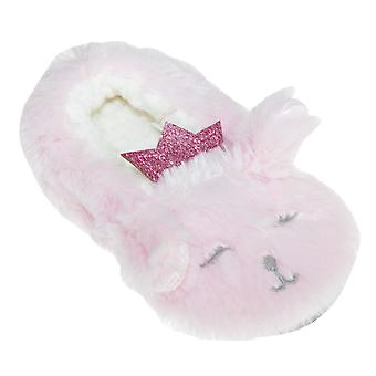 Slumberzzz Kids/Girls Plush Rabbit Slipers