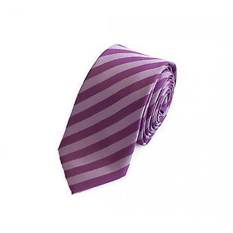 Pasiasty krawat krawat krawat krawat 6cm-fioletowy Fabio Farini