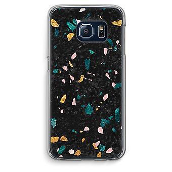 Samsung Galaxy S6 Edge Transparent Case (Soft) - Terrazzo N°10