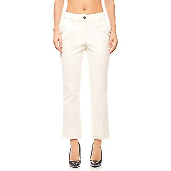 B.C.. best connections women's corduroy pants plus size White