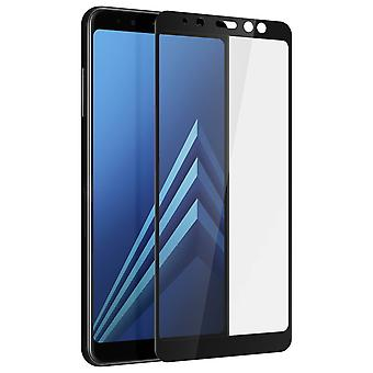Screen protector for Samsung Galaxy A8, Tempered Glass with black edges