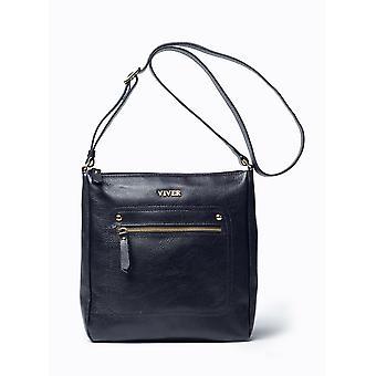 9886f5257f50c حقيبة ستايجلايت جلدية سوداء Isa فايفار