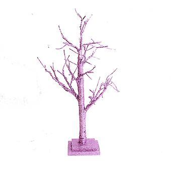 Led Light Up Purple Twig Tree