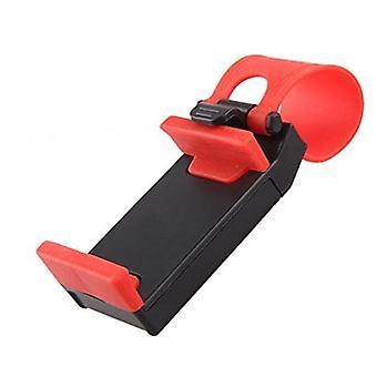 Mobile holder hjulet-svart og rød