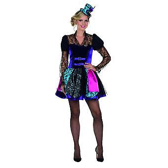 Steampunk Kostüm bunt Kleid Damen Karneval Zirkusdirektorin Fasching