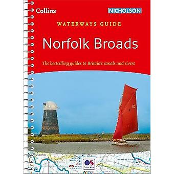 Norfolk Broads (Collins Nicholson Waterways Guides) by Collins Maps -