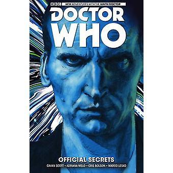Doctor Who - niende legen - Volume 3 - offisielle hemmeligheter av Cavan Sco