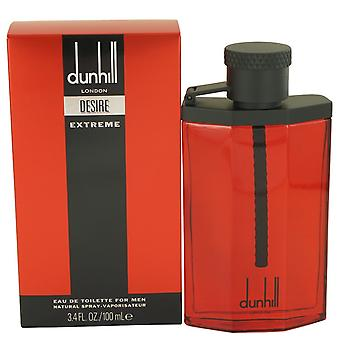 Desire Red Extreme by Alfred Dunhill Eau De Toilette Spray 3.4 oz / 100 ml (Men)