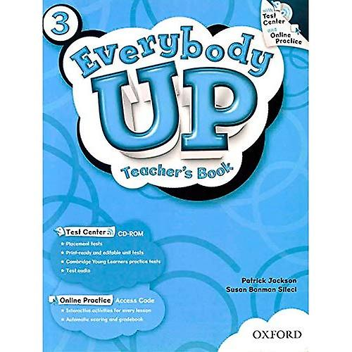 Everybody Up  3  Teacher& 039;s Book with Test Center CD-ROM