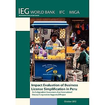 Impact Evaluation of Business License Simplification in Peru