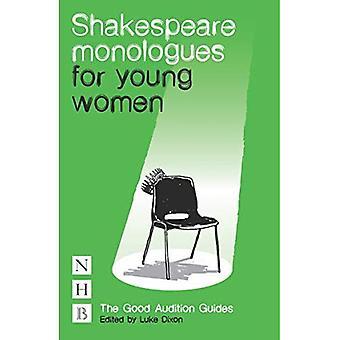 Monólogos de Shakespeare para las mujeres jóvenes (Guía de la buena audición)
