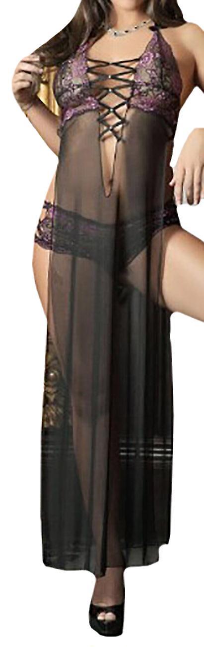 Waooh69 - Transparent Dress Open Side Lawe