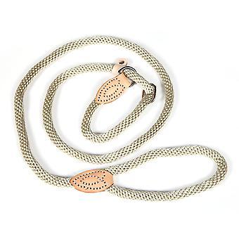 DIGIFLEX hond touw Slip leiden met gecombineerde verstelbare halsband-160cm - kleur Beige