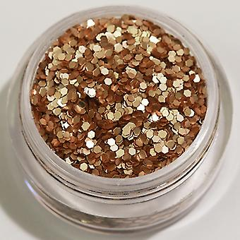 1st hexagon glitter sand (matt)