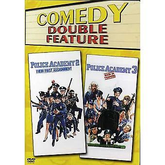 Police Academy 2/Police Academy 3 [DVD] USA importeren