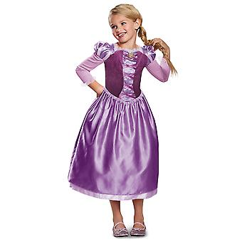 Rapunzel Day Dress Classic Disney Tangled the Series Toddler Girls Costume 3T-4T