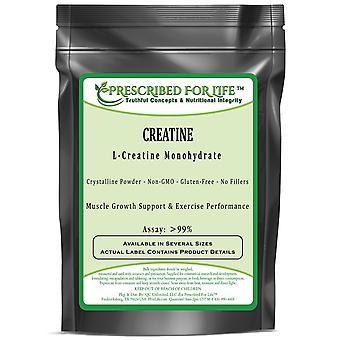 Creatine (L) - Pure L-Creatine Monohydrate Crystalline Powder - 80 Mesh
