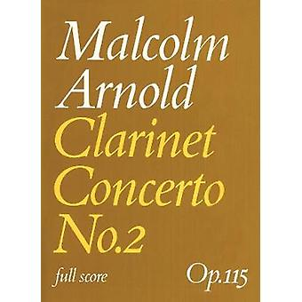 Clarinet Concerto No. 2 - (Score) by Clarinet Concerto No. 2 - (Score)