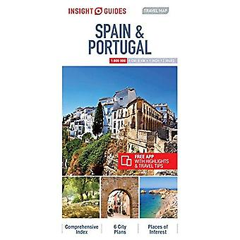 Insight Travel Map Spain & Portugal by Insight Guides - 9781786719010