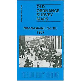 Macclesfield (North) 1907 - Cheshire Sheet 36.08 (Facsimile of 1907 ed