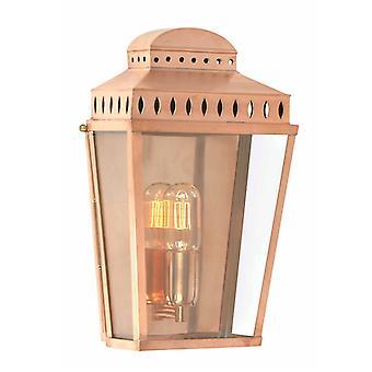Mansão casa parede lanterna cobre