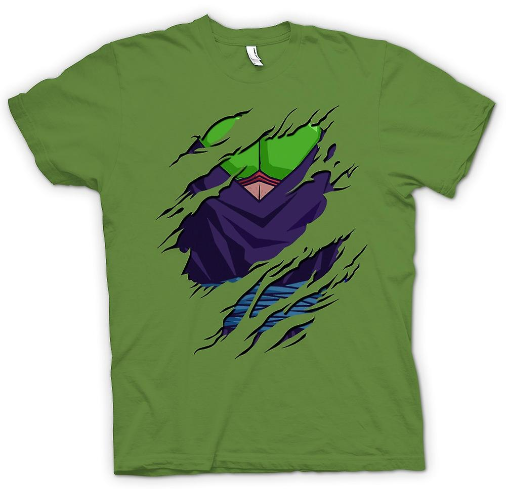 Mens T-shirt - Piccolo Ripped Design - Dragon Ball Z