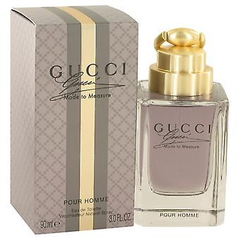 Gucci laget for å måle Gucci Eau De Toilette Spray 3 oz/90 ml (menn)