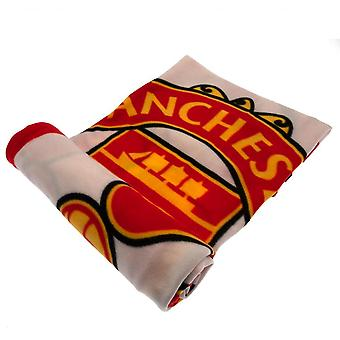 Manchester United Official PL Fleece Blanket