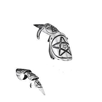 Griffes - étoile de pentagramme - griffe de doigt d'étain