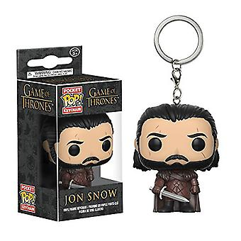 Game of Thrones Jon Snow (sæson 7) lomme pop! Nøglering