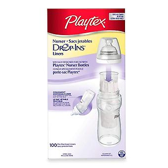 Playtex baby drop-ins disposable bottle liners, 100 ea