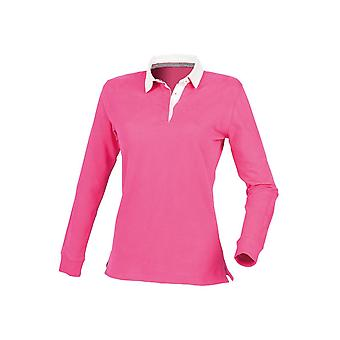 Front row women's premium superfit rugby shirt - tag-free fr105