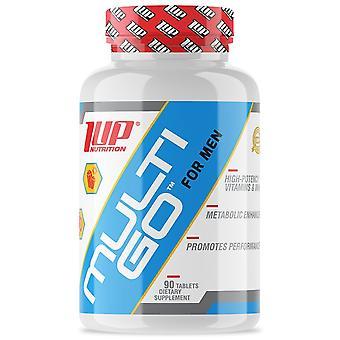 1 Up Nutrición Multi-Go Para Hombres, Vitaminas & Suplemento de minerales