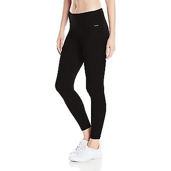 Jockey Women-apos;s Ankle Legging avec Wide Waistband, Deep, Deep Black, Taille X-Large
