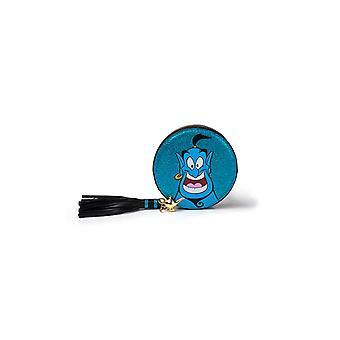 Aladdin Coin Monedero Genie Glitter nuevo oficial Disney Blue