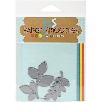 Paper Smooches Die-Foliage 1 J3D244