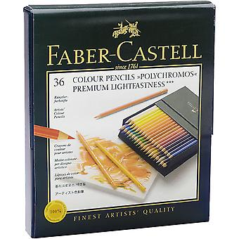 Polychromos Colored Pencil Gift Box 36pc-Lightfast Colors 110038